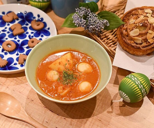 Easter Ready Soup Food Egg Keitto Easter Easteregg