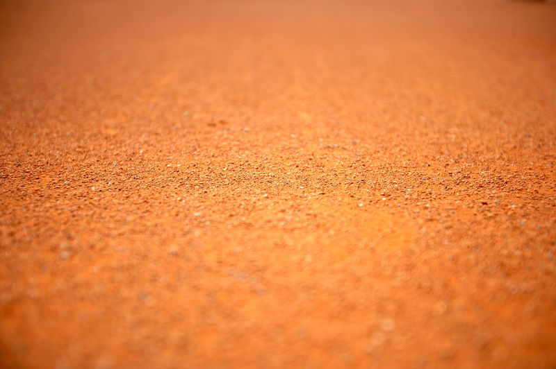 Close-up view of sand