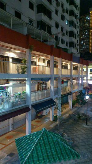 Singapore- 4 Sago Lane (Chinatown Complex) Snapseed Residential District Landmark Nightshot Nightlights Footpath Nightphotography Mobilephotography Smartphonephotography Architecturephotography Sonyxperiaphotography