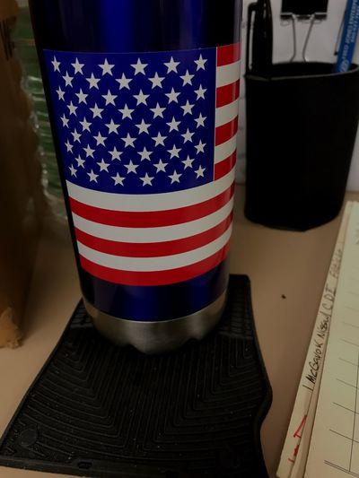 Patriotic USA Flag I Stand