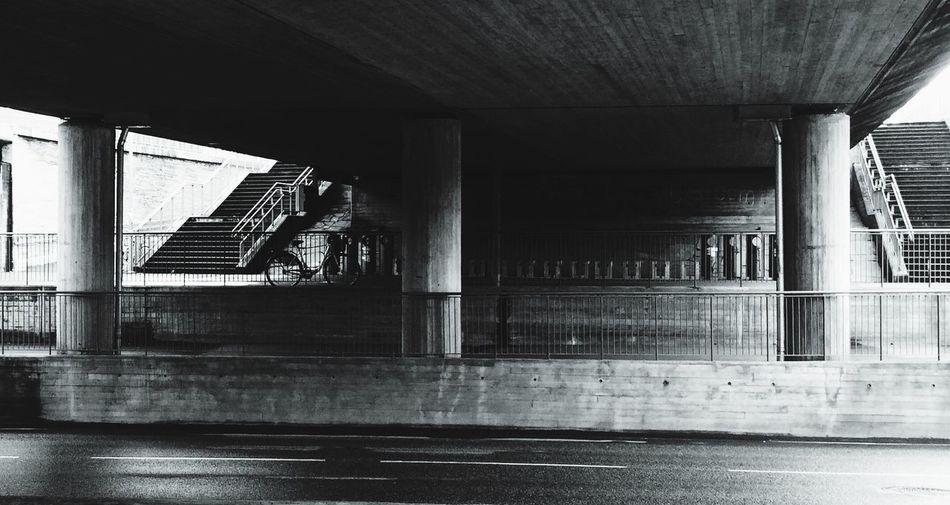 Bridge over street