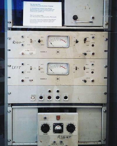 Twin-track stack tower. Rockfield Recording Studio. Motörhead Hawkwind Andyfairweatherlow Rockhistory