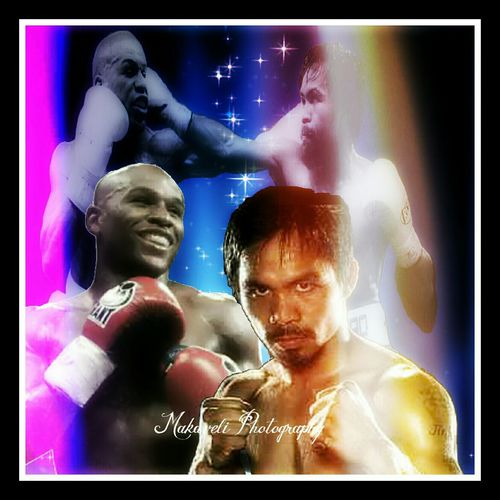 There can only be one true winner Eyeemb Floyd Mayweather  Manny Pacquiao  Boxing Match