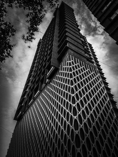Another one Designer  Construction EyeEmNewHere EyeEm Best Shots EyeEm Best Shots - Black + White Enough! Modern Skyscraper City Pattern Sky Architecture Building Exterior Built Structure