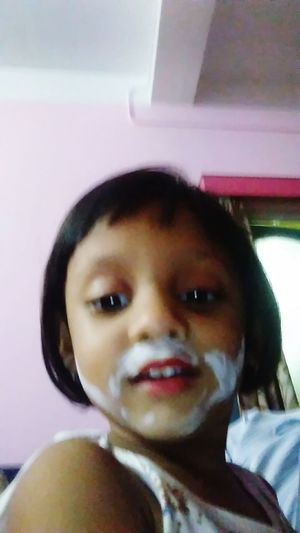 In Make Up Selfie Of A Naughty Girl