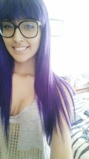 Purple Purple Hair Hair Lesbian Braziliangirl New Hair Color New Hair