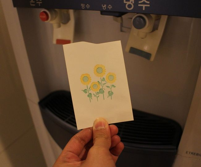magic paper Paper Magic Paper Paper That Holds Water Replacement For Plastic Cups Seoul Seoul South Korea