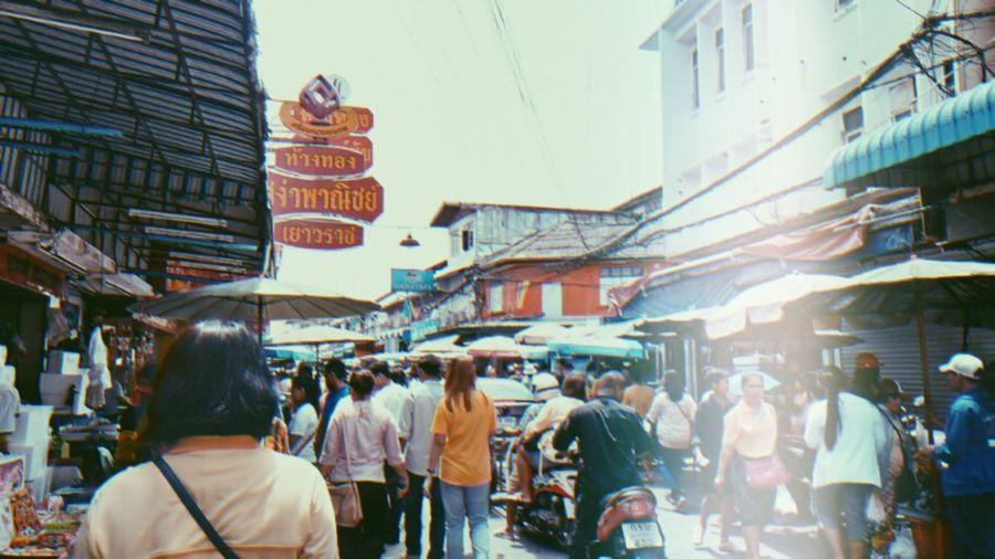Selling seafood