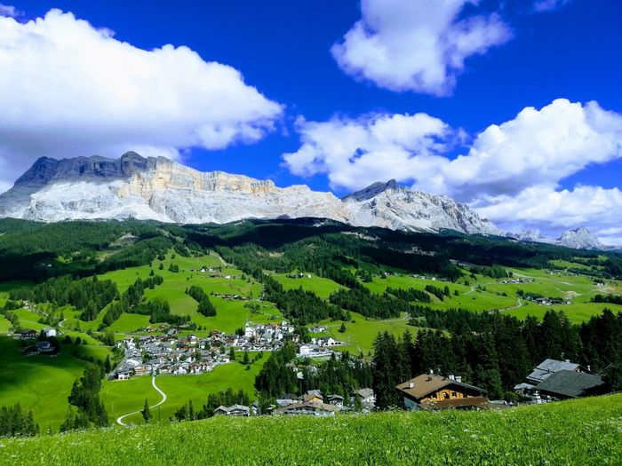 Mountain Mountain Range Beauty In Nature Nature Trentino Alto Adige Altavalbadia Ladino