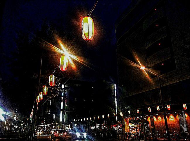 ちょうちん Light And Shadow IPhone Urbanphotography EyeEm Best Edits EyeEm Best Shots Night Night Lights Nightphotography Nightlife
