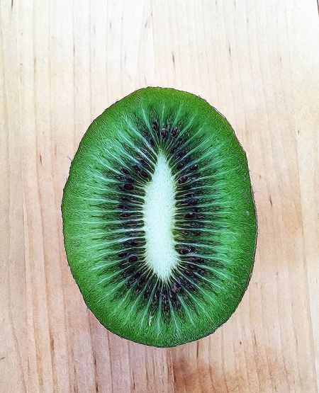 Close-up view of kiwi