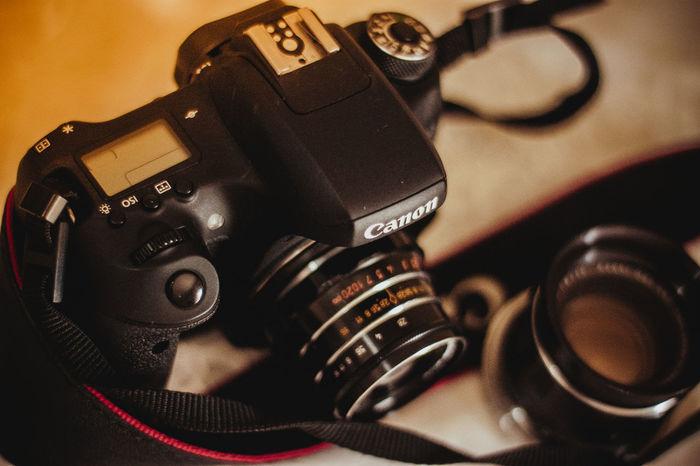 Canonphotography Canon760D Canont6s Camera - Photographic Equipment Camera Vintage Super Takumar 55mm 1.8 Industar61 Retro