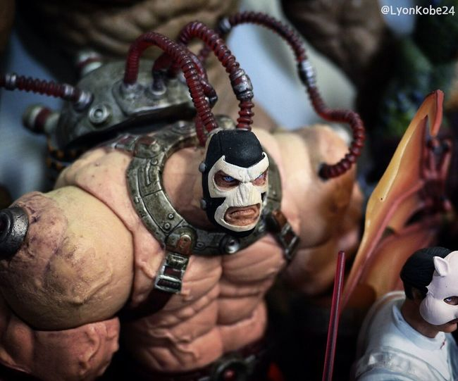 Bane. Born and raised in hell on Earth👊 Toycommunity Toyphotography Toys DC Comics Gotham Batman Actionfigures Toyphotographer Actionfigure Arkham Darkknight Bane Knightfall Thedarkknightrises ArkhamCity Arkhamasylum