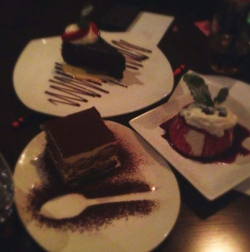 The Trifecta Mamma Mia Dessert :))