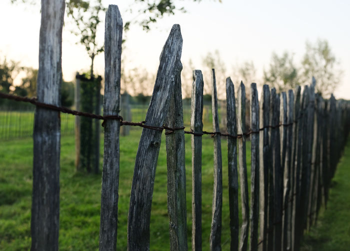 A fence in a