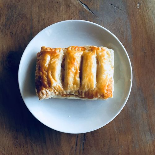 My boss's wife gave me lovely Apple Pie Handmade Yummy Sweet Food IPhoneography I really want more the one. Tomの見た世界 Japan Food