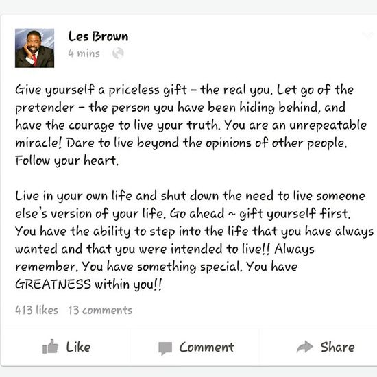 """""""Live in your own life and shut down the need to live someone else's version of your life."""" Lesbrown Inspiration Wordstoliveby Nojudgement sorrynotsorry itsmylife itsnowornever doingitmyway livewell laughoften lovemuch"""