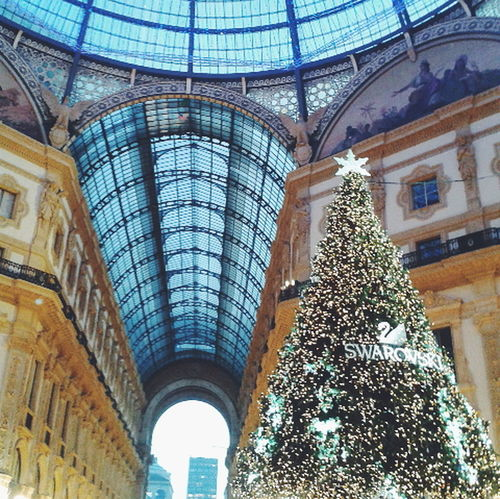 Merry Christmas♥ Galleria Vittorio Emanuele II, Milano! Merry Christmas Taking Photos Milan,Italy Enjoying Life Hello World AMPt - My Perspective Eye4photography  Photography