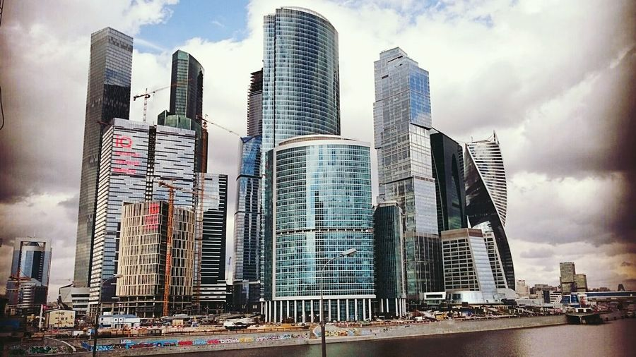 Moscow City Urbanphotography Skyscapes Urban Architecture Industrial Moscow Bigcitylife City
