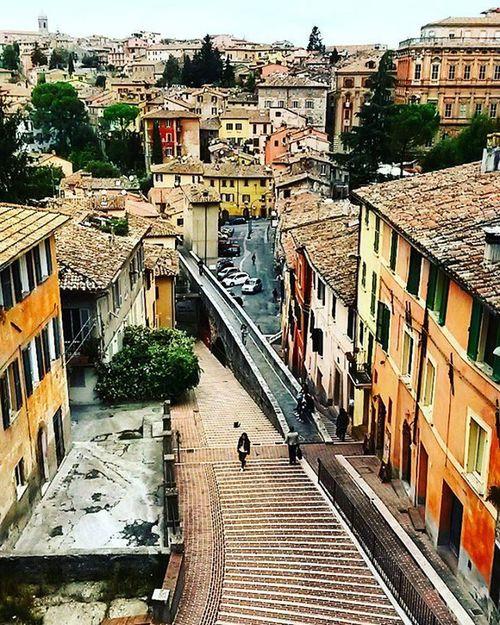 Perugia!! Via appia.... City Life Umbria Scattaingiro Love Life Tour Passion Photo