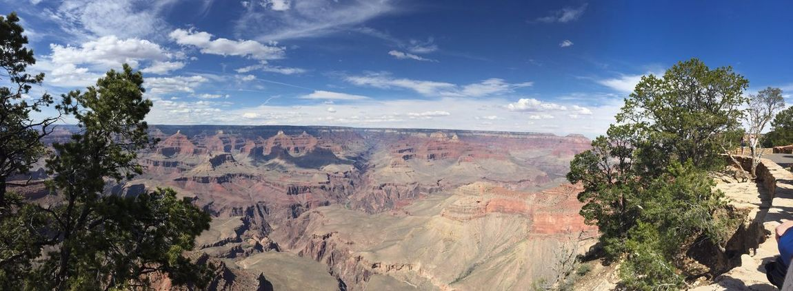 Grand Canyon Panoramic 180° No People Landscape Scenic View Arizona The Great Outdoors With Adobe Found On The Roll My Year My View