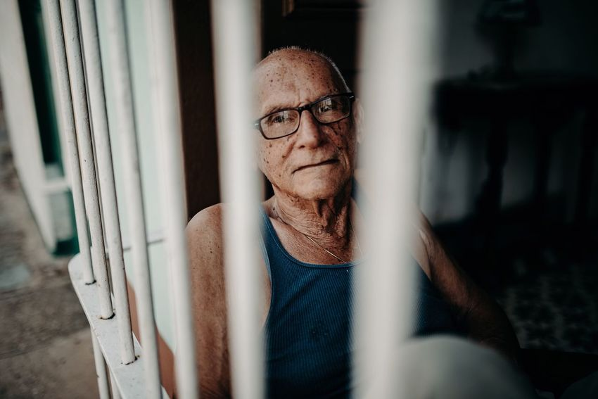 """""""What a weird person, why is he interested in taking a photo of me?"""" I bet it's what this men thought 😂 Old Man Man Real People One Person Glasses Portrait Eyeglasses  Front View Casual Clothing Lifestyles Looking At Camera Adult"""