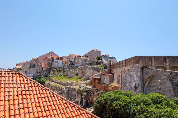 World Heritage UNESCO World Heritage Site Roof Sky Architecture Building Exterior Roof Tile Rooftop TOWNSCAPE Fortified Wall Fortress Housing Settlement