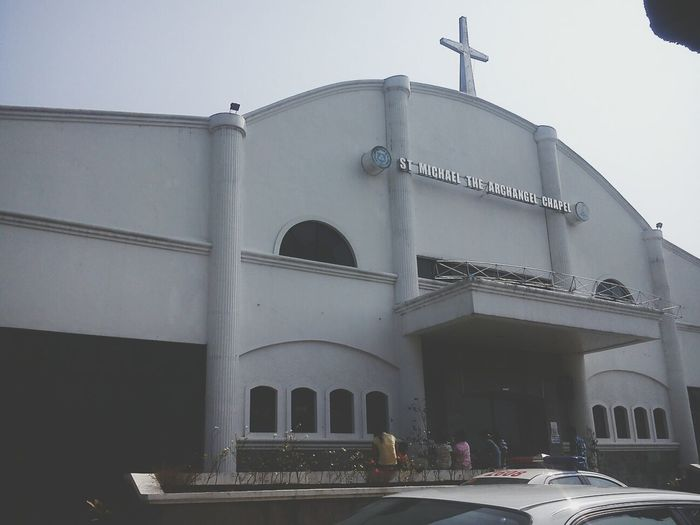 Here at St. Michael The Archangel Chapel :)) :-) Church (: