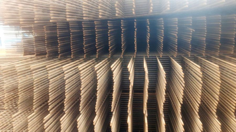 Steel mats for ferroconcrete construction site Pattern Textures and Surfaces Steel Mats Construction Site Construction Work Construction Material Ferroconcrete Reinforced Concrete Armoured Concrete
