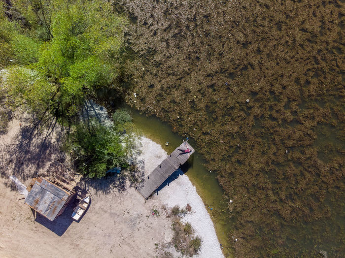 High Angle View No People Day Nature Water Lake Aerial View Dronephotography Tree Pollution Plant Dirt Transportation Outdoors Environment Architecture Water Pollution Road History Land Garbage River Dirty