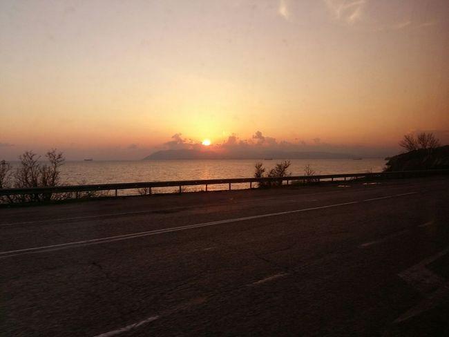 43 Golden Moments Gold Sun Sea Landscape Road Automoment Meinautomoment Journey