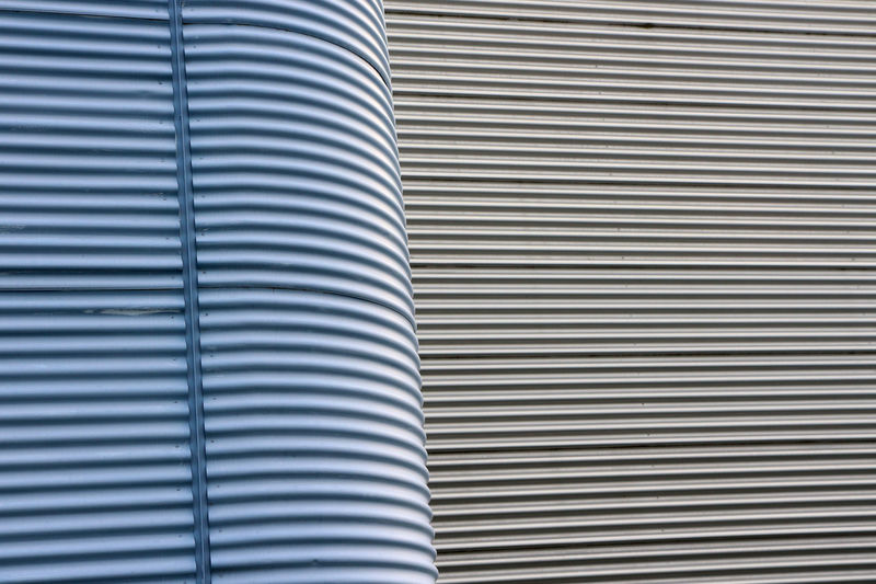 Vitra Campus Abstract Architecture Backgrounds Blue Corrugated Corrugated Metal Design Fassade Full Frame Lines Minimal Minimal Architecture Minimal Edit Minimalism Modern Modern Architectural Modern Architecture Pattern Repetition Vitra Campus