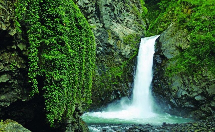 Azerbaijan Balakan Waterfall Old Photos