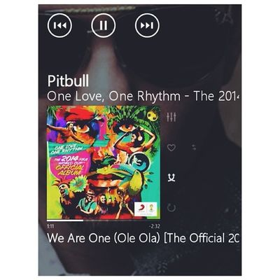 World Cup F E V E R ! ? WeAreOne OneLoveOneRhythm Official2014FIFAWorldCupSong Pitbull JenniferLopez CláudiaLeitte