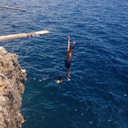 Capture The Moment Cliff Jumping Memories
