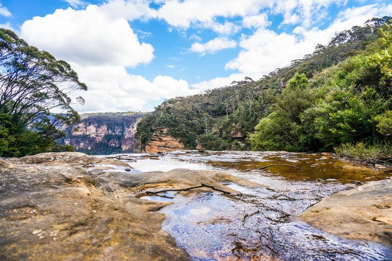 Australia Australian Landscape Beautiful Beauty In Nature Blue Mountains Day Katoomba Katoomba Falls Nature Outdoors Rock - Object Rock Formation Scenics Water Waterfall Waterfalls Colour Of Life