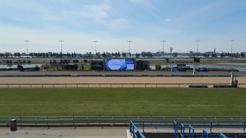 Opening Day Woodbine Racetrack Horseraceing Toronto