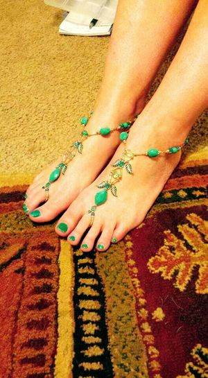 Pretty Feet Handmade Jewellery American Made Made By Me Made In Arkansas Barefoot Sandals