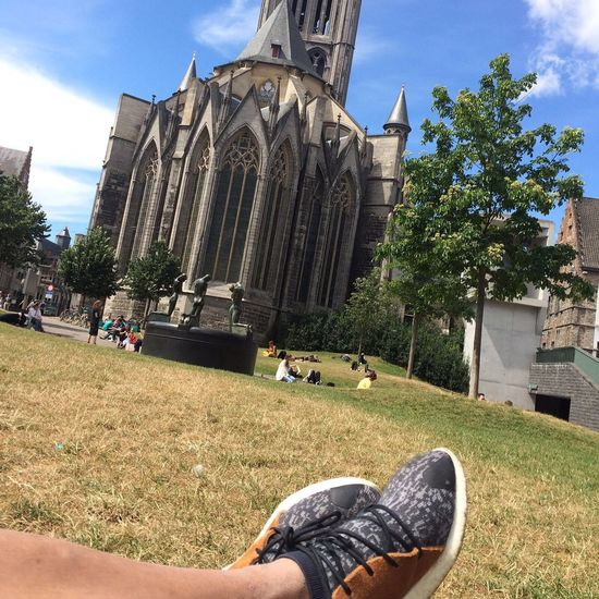 Ghent Chilling Hanging Out Relaxing Taking Photos Enjoying Life