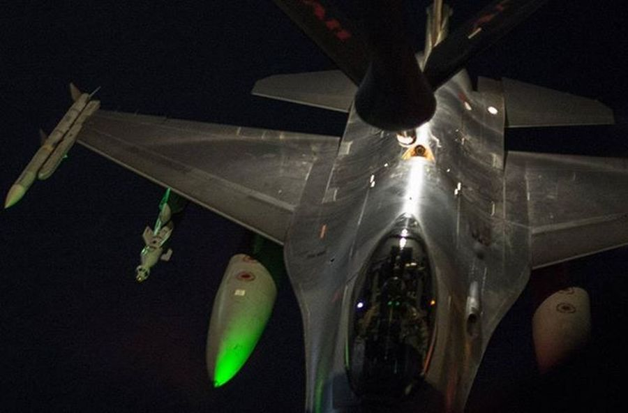TBT  RNAF @lockheedmartin F16 refuels over Iraq during OIR Comcam Usairforce Usafphoto USAF Stratotanker Avporn Aviationdaily Picoftheday Night Combat Military Neatherlands Royalneatherlandsairforce Stratotanker Photography Photo InstaTags4Likes Beautiful Instagood Photooftheday exposure composition focus capture moment.