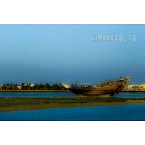 Bahrain Muharraq Panosh Old History Blue Sea Blue Sky Instamood Instapic Instagod Insta