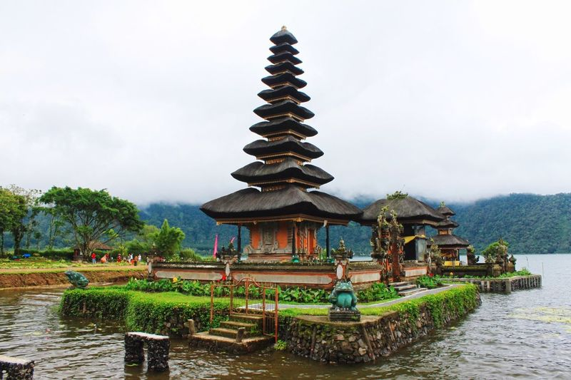 Bhuddhism Bali INDONESIA EyeEm Selects Pagoda Cultures Travel Travel Destinations No People Water