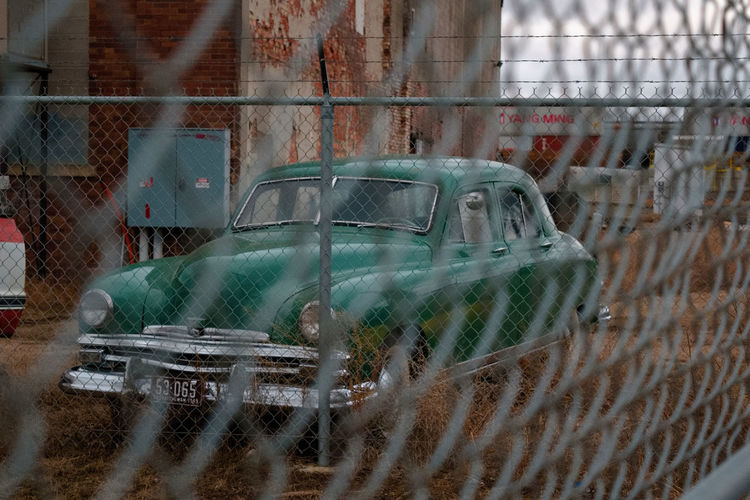 Old Cars Green