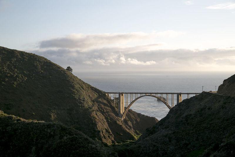 Bridge Bridge - Man Made Structure California California Highway No People Pacific Highway Tourism Travel Travel Destinations USA Vacations
