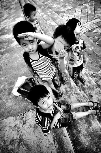 First Eyeem Photo The Human Condition Children Playing Countryside Chilhood Smile Vietnam Asian  Khanh Hoa