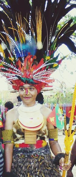 Traditional Costume Feathers PrettyPngindependence Facepaint Me first Eyeem Photo