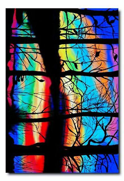 Myartistcommunity MYArtwork❤ Mycreation Digital Painting Digital Art EyeemArtLover Eyeemartgallery Forestrainbow