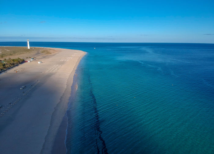 Canarias Canary Islands Drone  Fuerteventura Beach Beauty In Nature Blue Canary Day Horizon Horizon Over Water Idyllic Land Morro Jable Motion Nature No People Ocean Outdoors Scenics - Nature Sea Sky Tranquil Scene Tranquility Water
