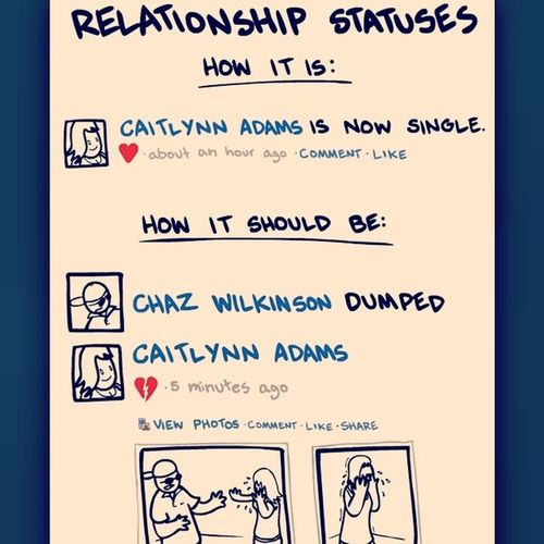 How It Should Be On Facebook Facebook Relationshipstatus