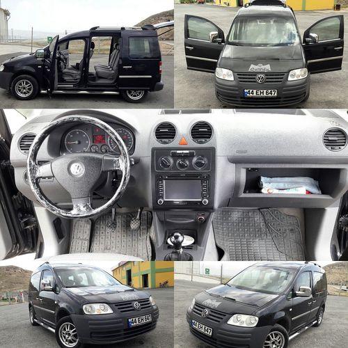 Volkswagen Caddy 2007 1.9Tdi Kombo Arac Hatasiz Boyasız KLM 170 Bin Tlf 05449494644